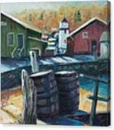 Mystic Harbor Canvas Print