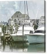 Mystic Harbour Canvas Print
