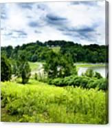 Mystic Hillside Canvas Print