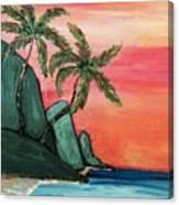 Mystic Ke'e  Canvas Print
