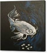 Mystic Koi Canvas Print