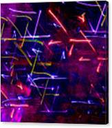 Mystic Lights 8 Canvas Print