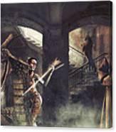 Mystic Man Canvas Print