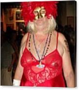 Mystic Masquerade For Linda Daughter Of Munger Canvas Print