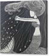 Mystic Mermaid Canvas Print