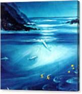 Mystic Moonlight  Canvas Print
