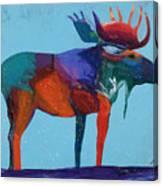 Mystic Moose Canvas Print