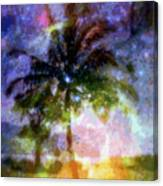 Mystic Palm Canvas Print