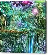 Mystic Waterfall Canvas Print