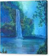 Mystic Waterfall Canvas Print