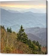 Blue Ridge Mountain 3 Canvas Print