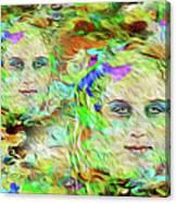 Mystical Eyes Canvas Print
