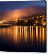 Mystical Golden Gate Bridge Canvas Print