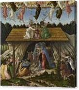 Mystical Nativity Canvas Print