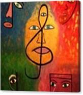 Mystical Notes Canvas Print
