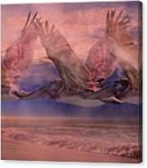 Mystical Trio Canvas Print
