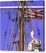 Mystic's Masts Canvas Print