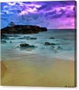 Mythical Ocean Sunset  Canvas Print