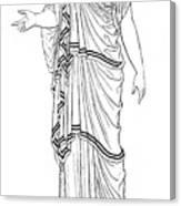 Mythology: Hera/juno Canvas Print