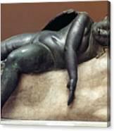Mythology: Sleeping Eros Canvas Print