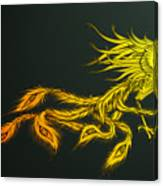 Myths Ablaze Canvas Print