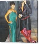 Mz Thang and Rick James Canvas Print
