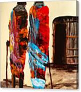 N 100 Canvas Print