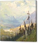 An Autumn Day, Mt Mckinley  Canvas Print
