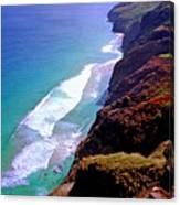 Na Pali Coast Trail Canvas Print