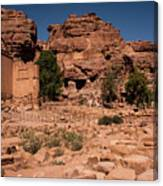 Nabatean's Village Canvas Print