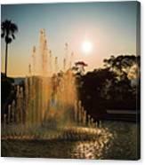 Nagasaki Peace Park Fountain Canvas Print