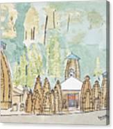 Nagesh Jyotirling Canvas Print