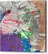 Nail Polish Abstract 15-u11 Canvas Print