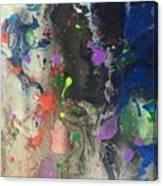 Nail Polish Abstract 15-w11 Canvas Print