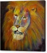Naja, Lion  Canvas Print