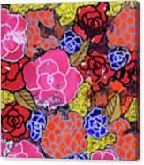 Nala's Flowers Canvas Print