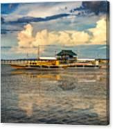 Nalusuan Boats Canvas Print