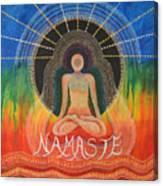 Namaste' Canvas Print