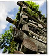 Nan Madol Wall Canvas Print