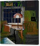 Nana's House Canvas Print