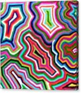 Nanas Quilt Canvas Print