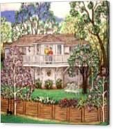 Nancy's House Canvas Print