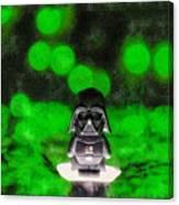 Nano Darth Vader - Da Canvas Print