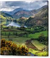 Nant Gwynant Valley Canvas Print