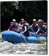 Nantahala River Rafting Canvas Print