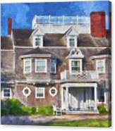 Nantucket Architecture Series 28 Canvas Print