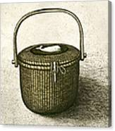 Nantucket Basket Canvas Print