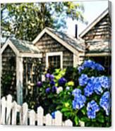 Nantucket Cottage No.1 Canvas Print