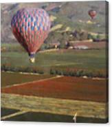 Napa Balloon Morning Ride Canvas Print