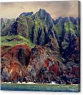 Napali Grandeur  Canvas Print